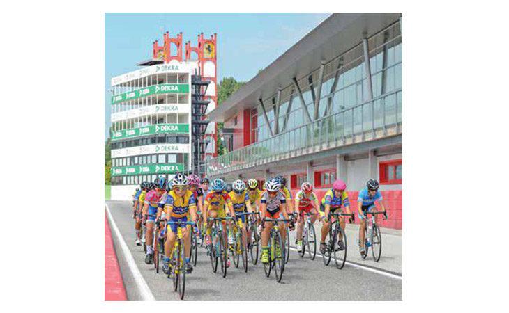 Due giorni di ciclismo giovanile all'autodromo con il Gp Fabbi