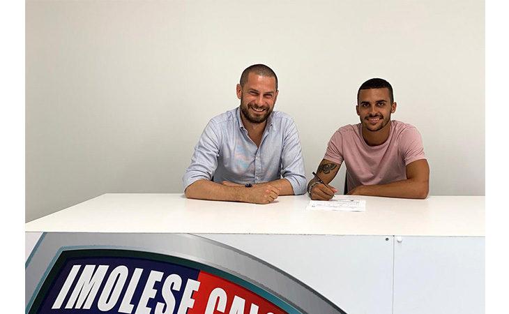 Calcio serie C, Garattoni e l'Imolese ancora insieme per il terzo anno consecutivo