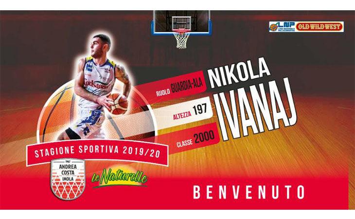 Basket A2, Nikola Ivanaj è il secondo Under nel roster dell'Andrea Costa