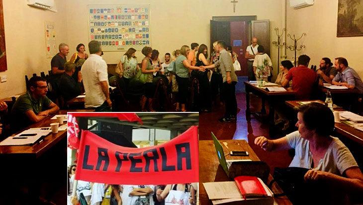 Crisi La Perla, licenziamenti sospesi dopo l'incontro al Mise. A Medicina odg unanime a sostegno delle lavoratrici