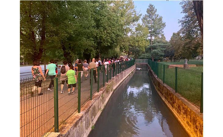 «Camminacittà», a Imola dalla Bocciofila si va in direzione «Zolino»