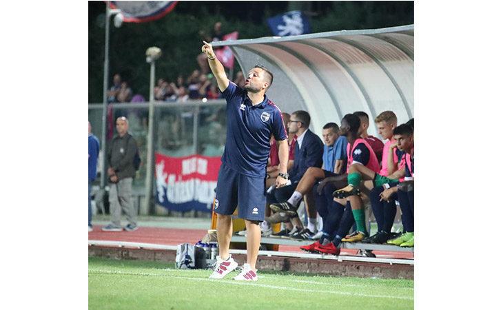 Calcio Coppa Italia, i mister Coppitelli e Montero nel dopo partita di Imolese-Sambenedettese. IL VIDEO
