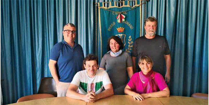A Borgo Tossignano il nuovo corso del sindaco Ghini: «Condivisione delle deleghe per garantire continuità»