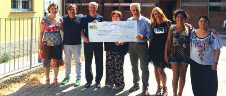 La Bcc Ravennate Forlivese e Imolese ha donato 1.400 euro per la ristrutturazione dell'asilo di Bubano