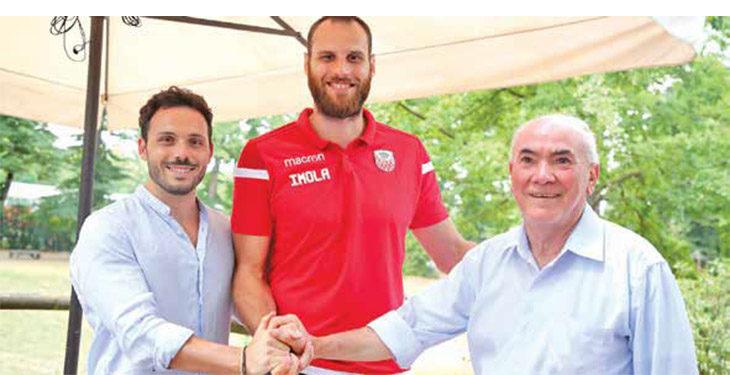 Basket A2, le prime parole di Masciadri in maglia Andrea Costa: «Imola club importante per potermi rilanciare»
