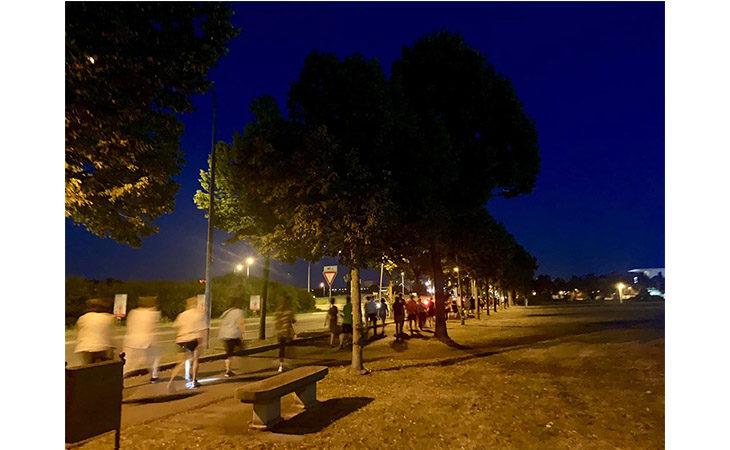 «Camminacittà», a Imola dalla Bocciofila si va in direzione «Pedagna»