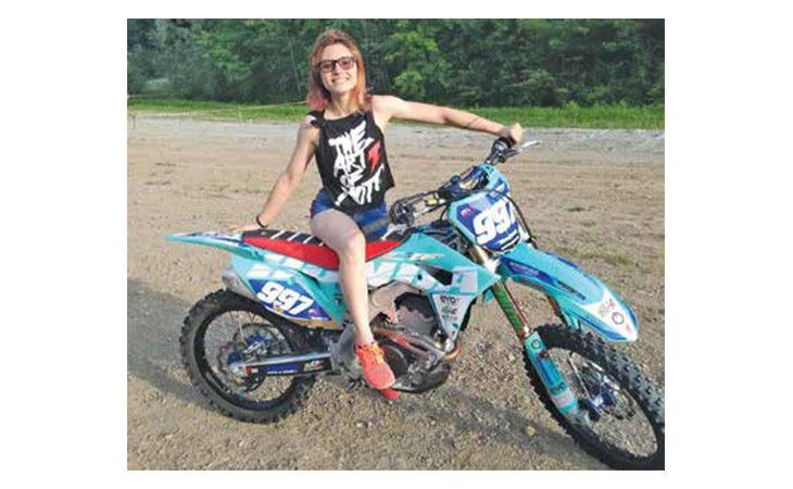 Mondiale motocross a Imola, la castellana Andrea Giorgia Grazia non sarà al via: «Gareggiare costa molto»