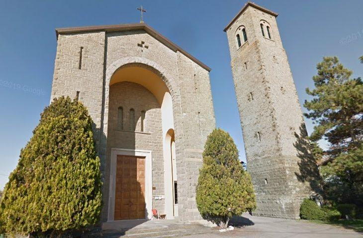 A Sassoleone una nuova pala d'altare dedicata a san Rocco