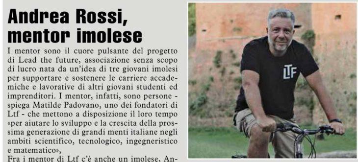 LTF ha anche un mentor imolese, Andrea Rossi