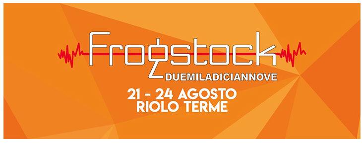 Tutto pronto per l'edizione 2019 del Frogstock Festival di Riolo Terme