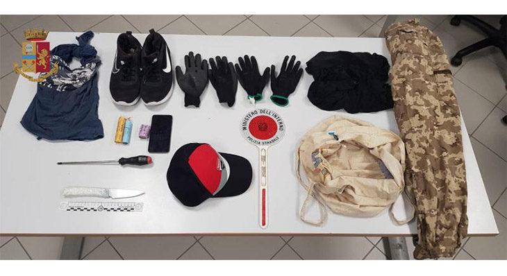 Rapine seriali nell'area di servizio Santerno Ovest, due arresti. IL VIDEO