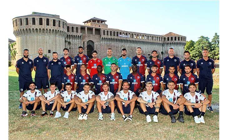 Calcio serie C, svelati i numeri di maglia dei giocatori dell'Imolese