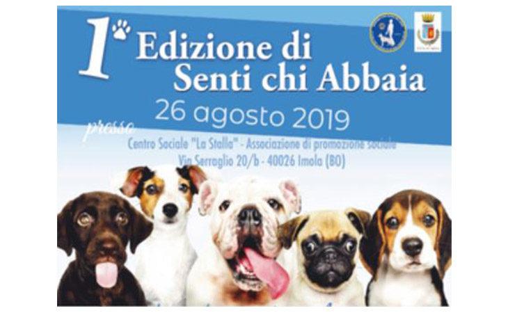 «Senti chi Abbaia», il cane diventa protagonista al centro sociale La Stalla