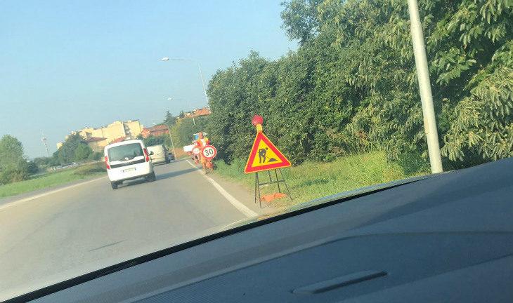 Sono partiti oggi a Imola i lavori di adeguamento del sottopasso dell'asse attrezzato sotto la ferrovia