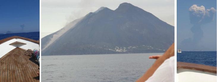 Eruzione Stromboli, il racconto in diretta dell'ex sindaco di Castel San Pietro Sara Brunori in vacanza alle Eolie
