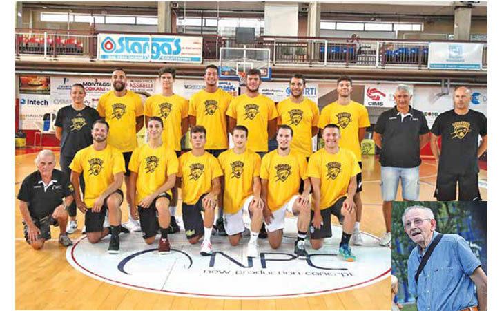 Basket C Gold, addio al presidente della Vsv Imola Luigi Dall'Alpi: «Avremo una motivazione in più»