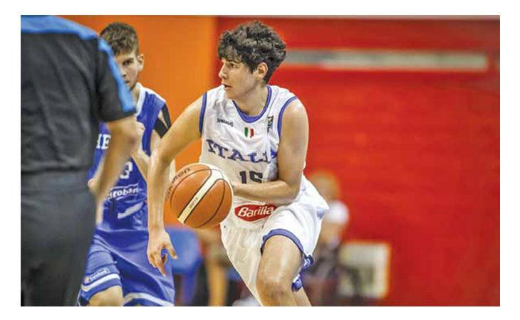 Basket, Tommaso Marangoni e la medaglia di bronzo all'Europeo U16
