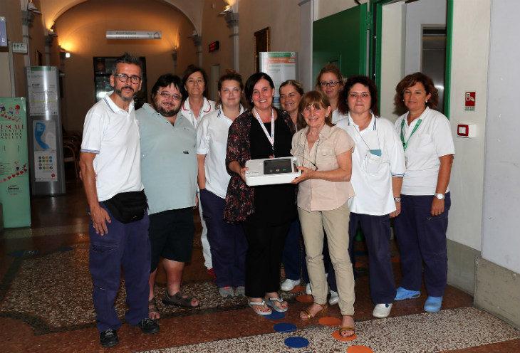 Un nuovo elettrocardiografo portatile alla Casa della Salute di Castel San Pietro in memoria di Sandro Zaniboni