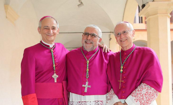 Monsignor Zuppi cardinale, le congratulazioni del Comune di Castel San Pietro e del vescovo di Imola
