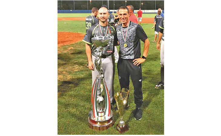 Baseball, tra le Aquile bolognesi volano Alex Bassani e  Vanni Pedrini
