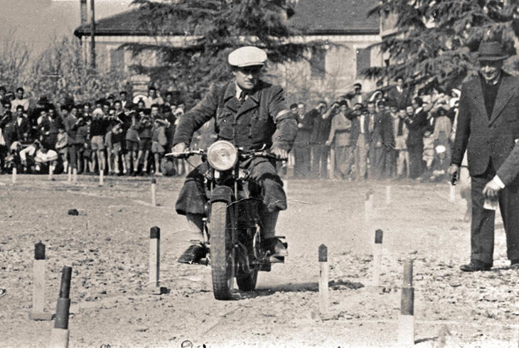 La gimkana motociclistica