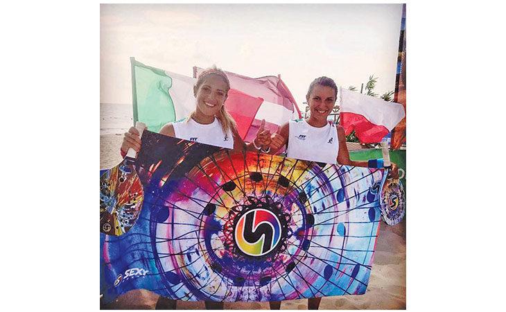 Beach tennis, titolo europeo per la coppia Gasparri-Cimatti
