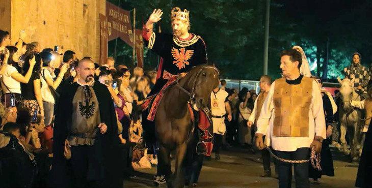 Medicina torna per tre giorni nel Medioevo per accogliere l'imperatore Federico I detto il Barbarossa