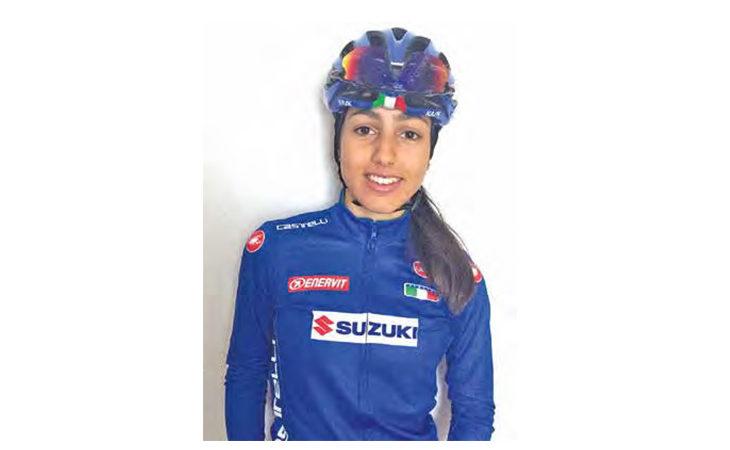 Ciclismo, l'imolese Patuelli in ritiro con la maglia azzurra: «Sto sognando i Mondiali»