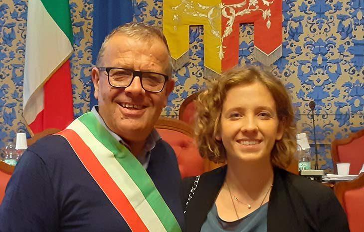 Giulia Naldi è l'assessora a Welfare e Scuola della Giunta Tinti a Castel San Pietro