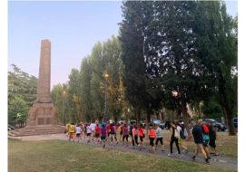 «Camminacittà», a Imola dalla Bocciofila si va in direzione «Rivazza»