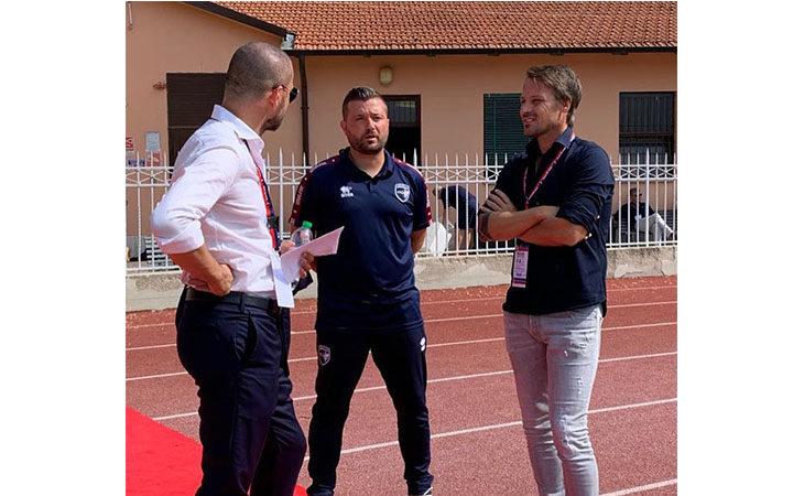 Calcio serie C, il tecnico Federico Coppitelli nel post partita di Imolese-Modena. IL VIDEO