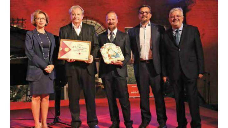 Al gruppo Mati il premio della Clai «100% italiano» che è stato consegnato dalla sindaca Manuela Sangiorgi