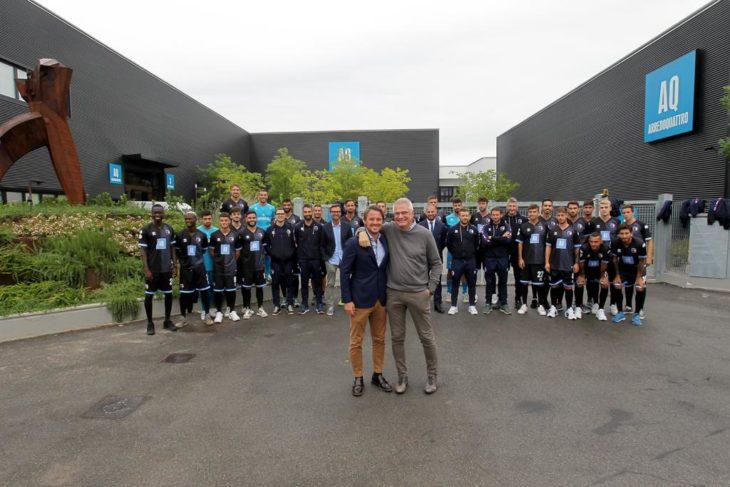 Calcio serie C, presentata la quarta maglia dell'Imolese
