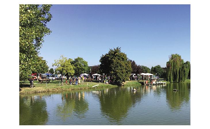 La festa è sull'acqua al laghetto Mariver di Osteria Grande