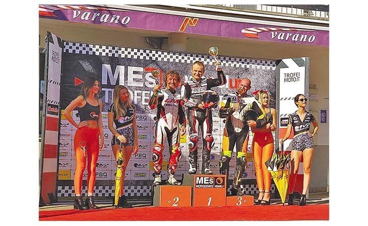 Motori, Valter Bartolini si è aggiudicato il titolo «1000 Open»