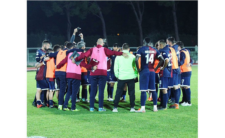 Calcio serie C, il tecnico Federico Coppitelli e il difensore Lorenzo Checchi nel post partita di Imolese-Virtus Verona. IL VIDEO