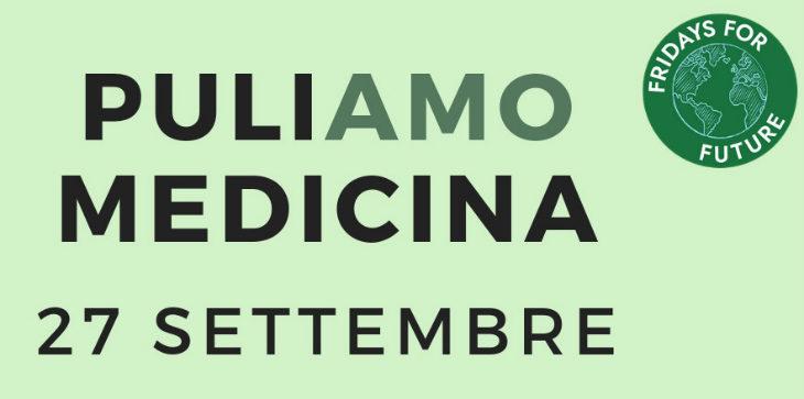 I giovani medicinesi invitano tutta la cittadinanza a un pomeriggio «ecologico» dedicato alla pulizia della città