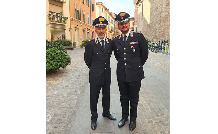 Un carabiniere che ama la poesia, la passione del nuovo Capitano di Imola Andrea Oxilia