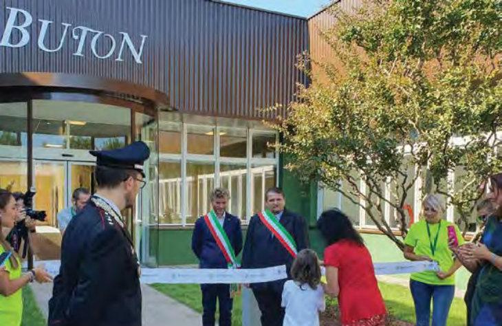 Inaugurata la nuova palazzina uffici della storica Buton, la «città del brandy» oggi del gruppo Montenegro