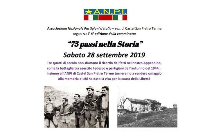Camminata ai ruderi di Ca' di Guzzo, «75 passi nella storia» con l'Anpi di Castello