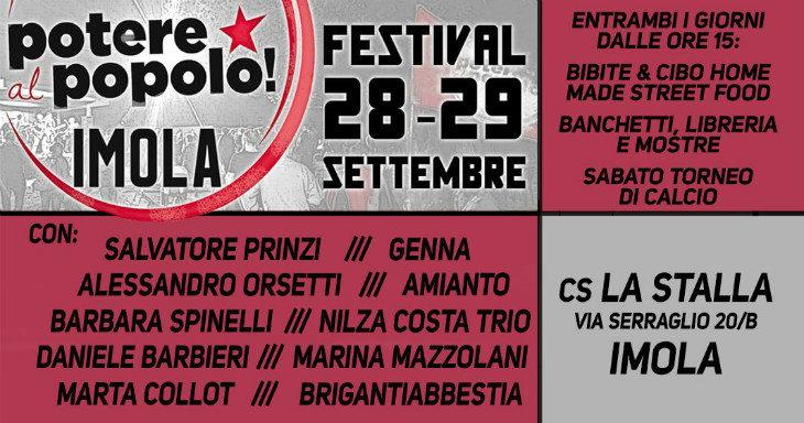 Il Festival di Potere al Popolo alla Stalla, fine settimana contro fascismo, razzismo e sessismo