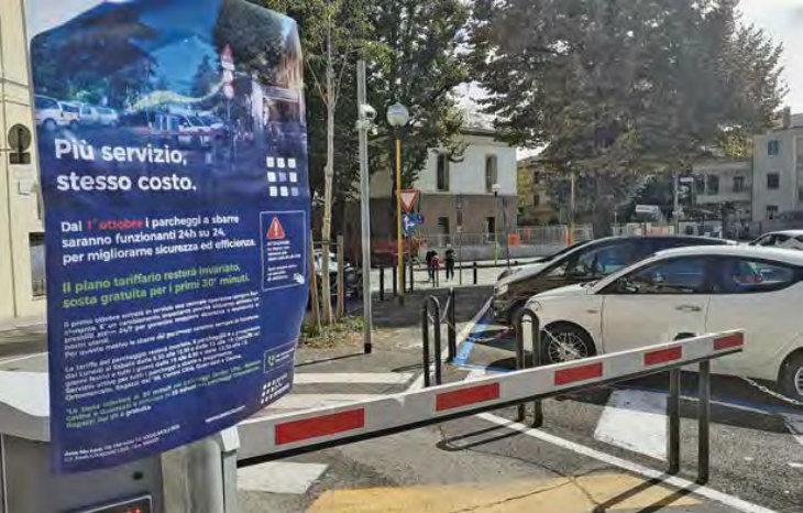 Parcheggi a sbarre, si cambia: dal primo ottobre saranno attivi 24 ore su 24. Invariate le fasce a pagamento