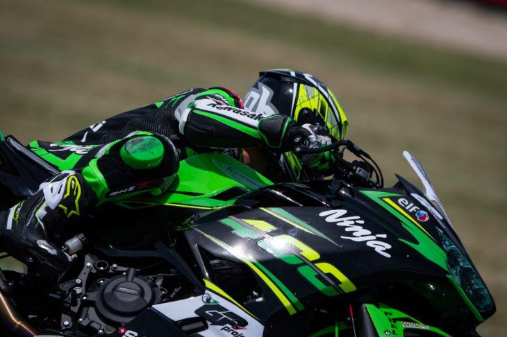 Mondiale Supersport 300, il team Gp Project punta sul giovane pilota imolese Andrea Longo