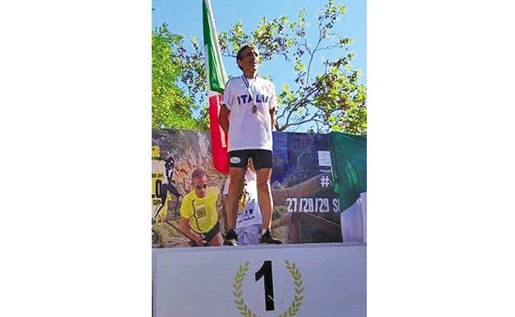 Corsa in montagna Master, oro mondiale per Adolfo Accalai dell'Avis Castel San Pietro