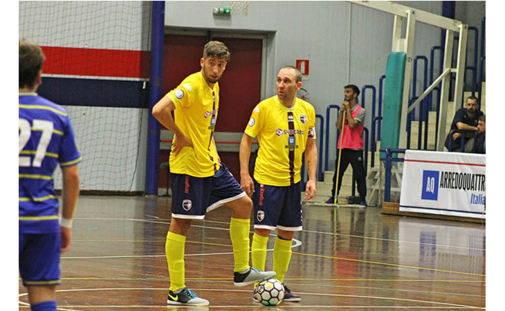 Futsal A2, «manita» dell'Imolese a casa del Leonardo
