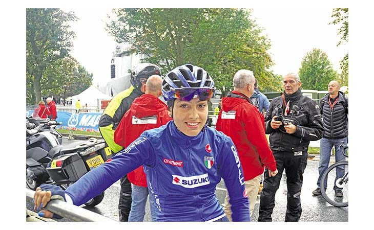 Ciclismo, la sfortuna… Mondiale di Alessia Patuelli: «Potevo salire sul podio»
