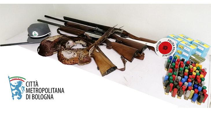 Sparava in giorni e luoghi vietati, denunciato cacciatore a Casalfiumanese