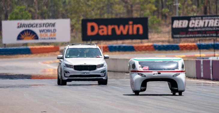 Semaforo verde per Emilia 4Lt in Australia, parte la gara per macchine ad energia solare