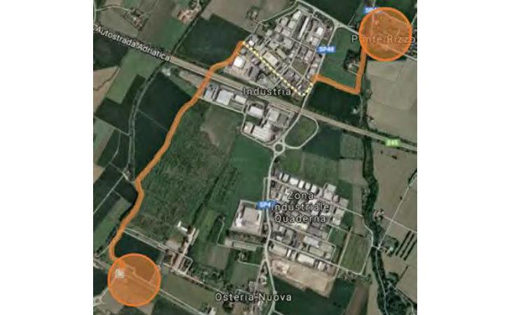 Vedrà la luce a Ozzano grazie a un finanziamento regionale la pista ciclabile dalla stazione ferroviaria a Ponte Rizzoli