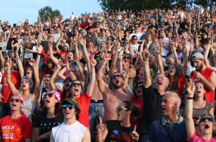 """Vasco a Imola, App&Down di #imolachiamaVasco: """"Siamo molto contenti per Imola'"""